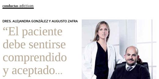 entrevista augusto zafra y alejandra gonzalez sobre conductas adictivas