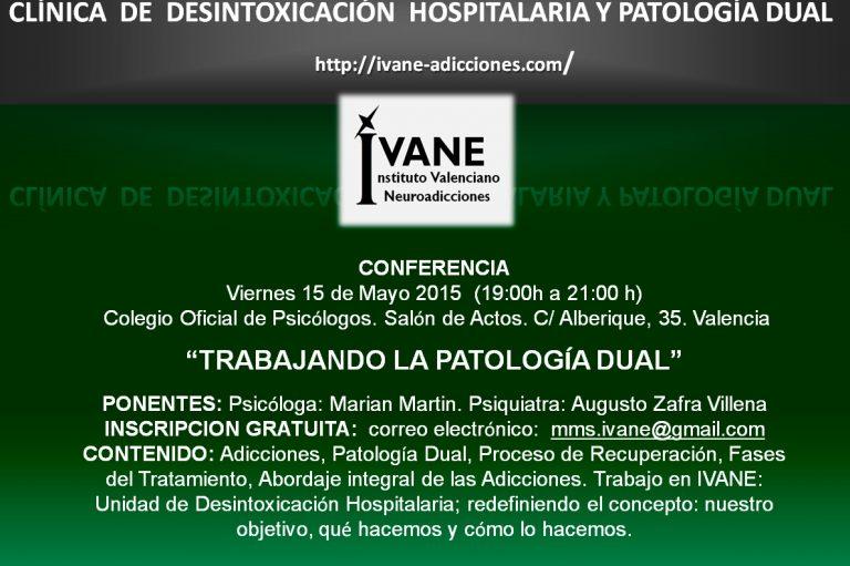Conferencia sobre Patología Dual