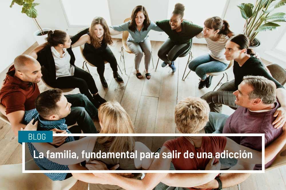 La familia, fundamental para salir de una adicción