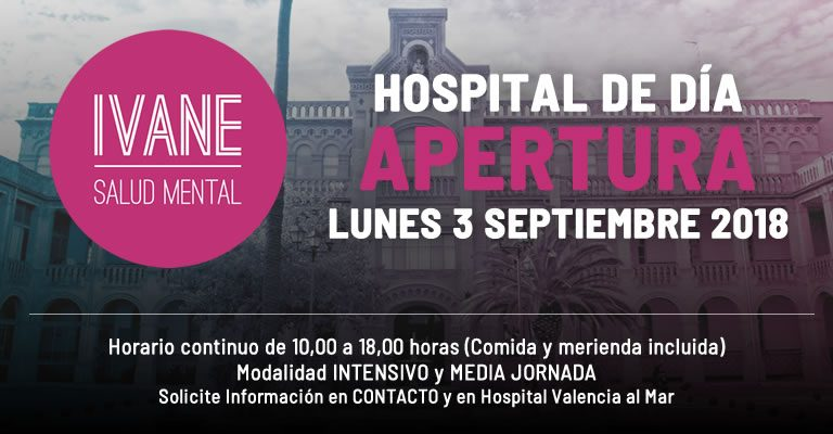 Apertura Hospital de Día, en Hospital Nisa Valencia al Mar (IVANE Salud Mental)