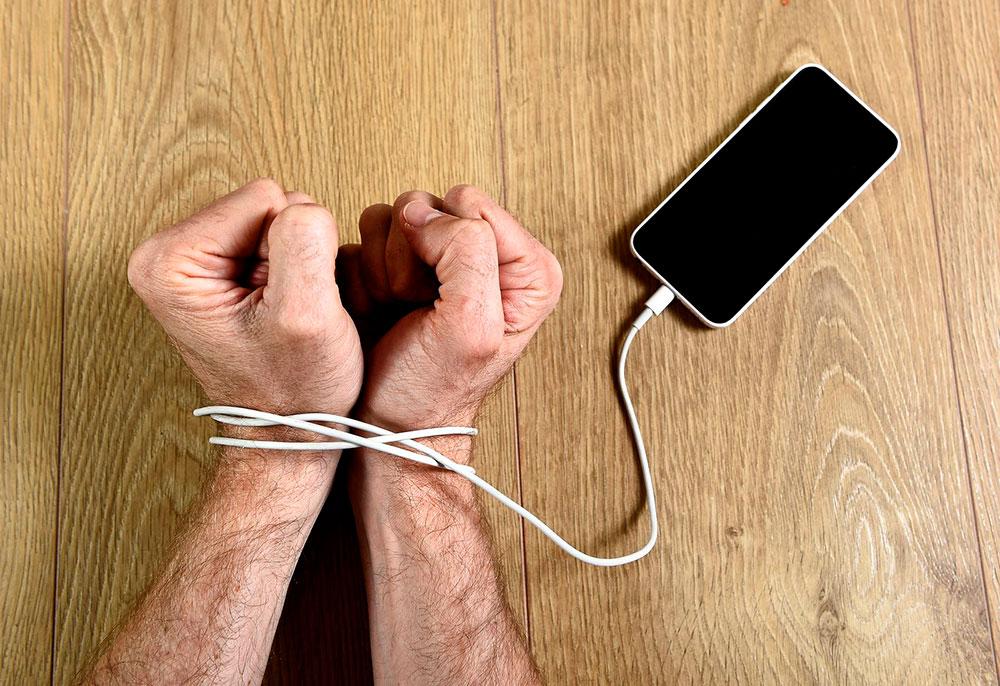 Ansiedad por no poder usar el teléfono móvil