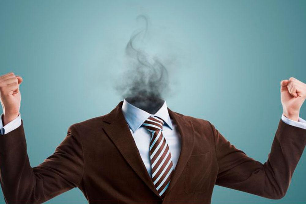 El burnout o el síndrome del trabajador quemado