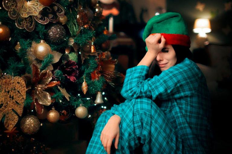 La «depresión blanca» en época de Navidad