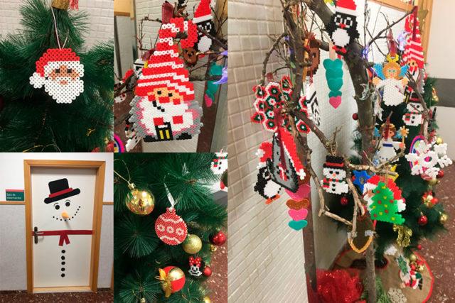 Navidad en IVANE Salud: Taller de manualidades Sala de Psiquiatría y Hospital de Día