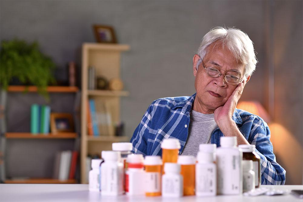 Fracasos en la psicofarmacología en los ancianos puede deberse a la propia naturaleza degenerativa, peor tolerancia y mayor cantidad de efectos secundarios.