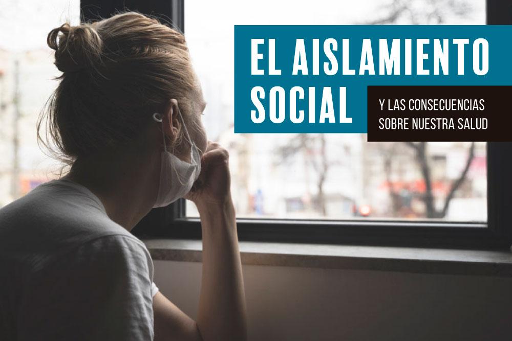 El aislamiento social se entiende como un síntoma en diversas enfermedades mentales, como la depresión, ansiedad u otros trastornos como la esquizofrenia.