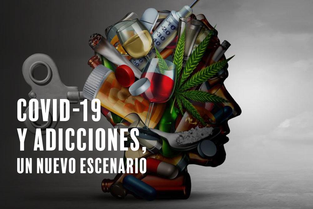 COVID-19 y Adicciones: las personas con enfermedad adictiva pueden ser especialmente susceptibles a la infección por coronavirus