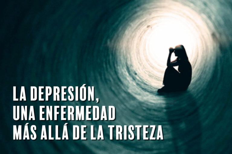 La depresión, una enfermedad mental más allá de la tristeza