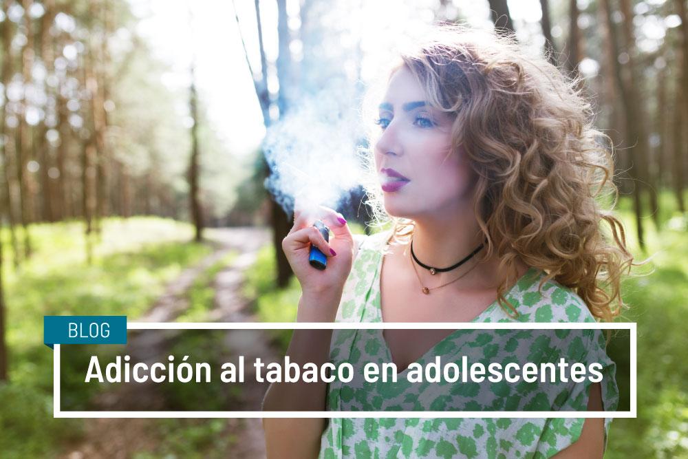 Adicción al tabaco en adolescentes